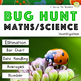Mini Beast Math Activities Bundle: Symmetry, Measurement, Converting + Much More