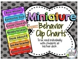 Mini Behavior Clip Chart