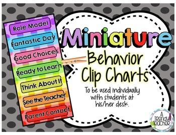 Mini Behavior Clip Chart