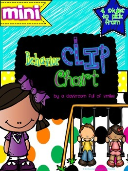 *Mini* Behavior Clip Chart  *4 Different Styles*