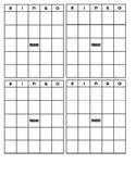 Mini Bingo Boards