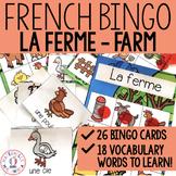 Bingo - La ferme (FRENCH Farm animals bingo)