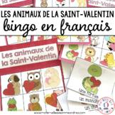 Bingo - Les animaux de la Saint-Valentin (FRENCH Valentine's Day Animal Bingo)