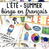 Bingo - L'été (FRENCH Summer Bingo)