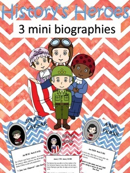 Mini Biography- 3 of History's Heroes