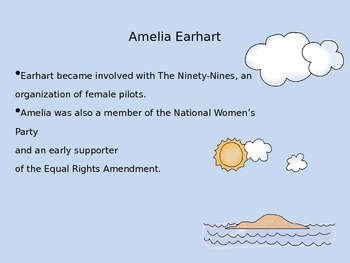 Mini Biography Amelia Earhart
