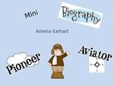 Mini Biography Amelia Earhart