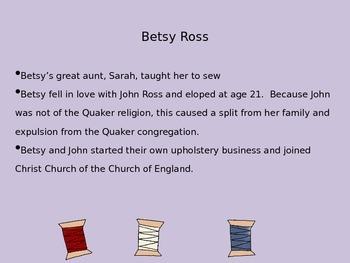 Mini Biography Betsy Ross