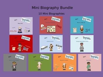 Mini Biography Bundle