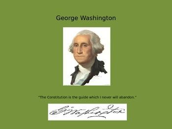 Mini Biography George Washington