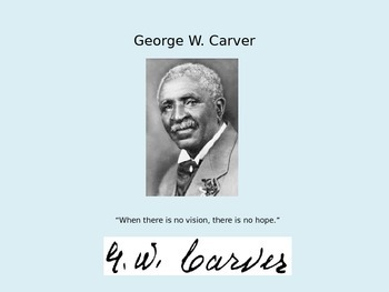 Mini Biography George Washington Carver