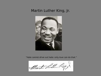 Mini Biography Martin Luther King Jr.