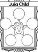 Mini Biography Set : Julia Child : Reading and Worksheets