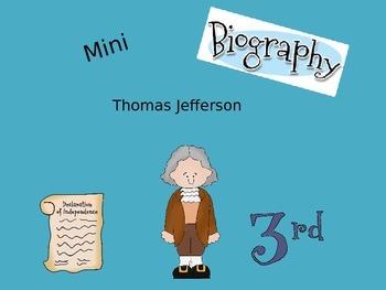 Mini Biography Thomas Jefferson