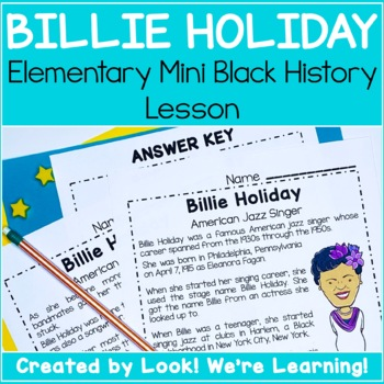 Mini Black History Lesson: Lady Day Learning!
