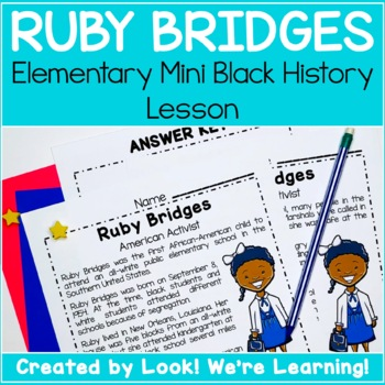 Mini Black History Lesson: Ruby Goes to School!