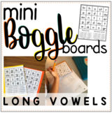 Phonics-Boggle Mini Boards: Long Vowel Patterns