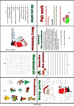 Mini Book 'Christmas' (writing, vocabulary and more)