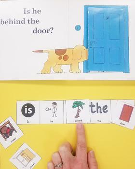 Mini Book Companion For Speech Therapy: Where's Spot?