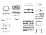 Mini-Book Foldable Multiplcation of Fractions