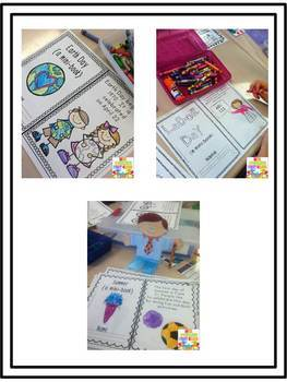 First Grade Mini Books BUNDLE