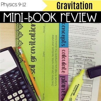 Mini-Book: Gravity with Extension Activity