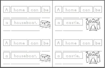Mini Book: Homes
