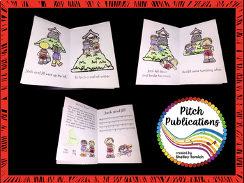 Mini-Book Masterpiece: Storybook Series - Jack and Jill!