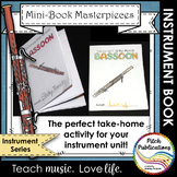 Mini-Book Masterpieces: Instrument Series - BASSOON!