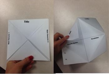 Mini Book Project Foldable
