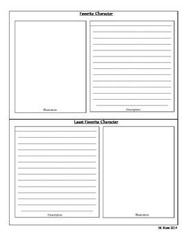 Mini Book Report (Flip Book)
