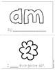 """Mini-Book: Sight Word """"am"""""""