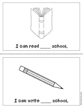 "Mini-Book: Sight Word ""at"""