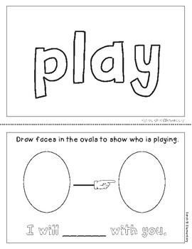 "Mini-Book: Sight Word ""play"""