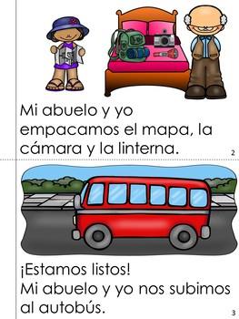 """Mini Book-Syllable """"A, E, I, O & U"""" in Spanish"""