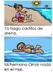 """Mini Book-Syllable """"A, E,  I & O"""" in Spanish"""