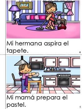 "Mini Book-Syllable ""A, E & I"" in Spanish"
