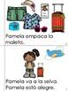 "Mini Book-Syllable ""A & E"" in Spanish."