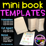 Mini Book Templates - for personal and classroom use