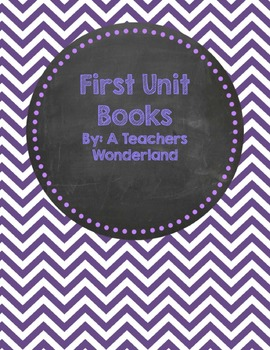 Beginning of the year Themed Unit books