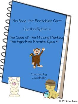 Mini Book Unit Printable for Cynthia Rylant's The High Ris