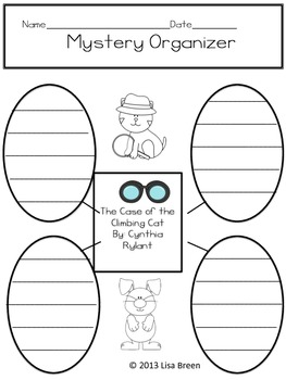 Mini Book Unit Printable for Cynthia Rylant's The High Rise Private Eyes #2