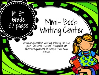 Mini Book Writing Center: Grades 1-3rd