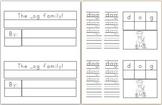 Mini Book: _og Word Family