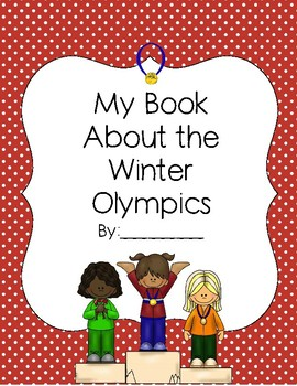 Mini Book about the Olympics.