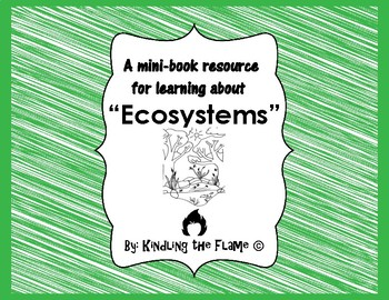 Mini-Book for Learning About Ecosystems