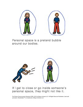 Mini-Book for Teaching Personal Space