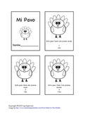 Mini-Book in Spanish- A Turkey Book for Thanksgiving!