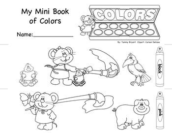Mini Book of Colors