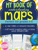 Mini Book of Understand Maps! A Student Friendly Map Skills Comprehension Book!